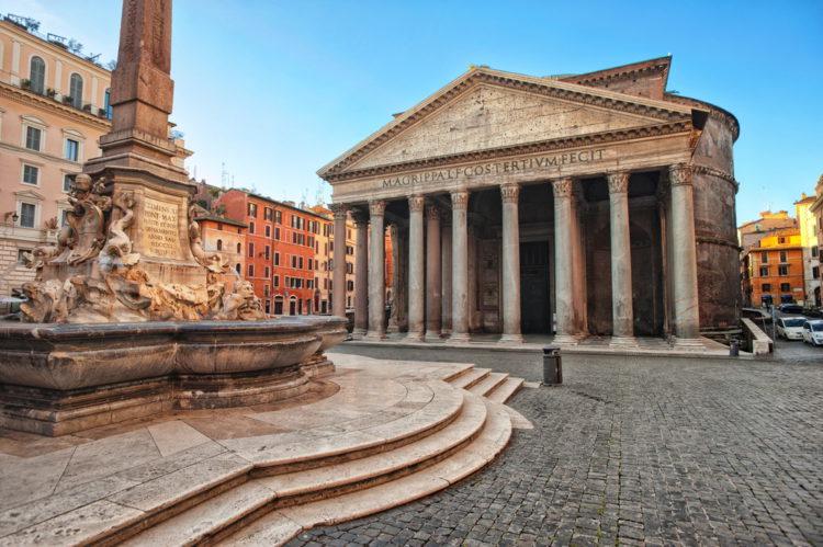 Достопримечательности Италии - Паптеон