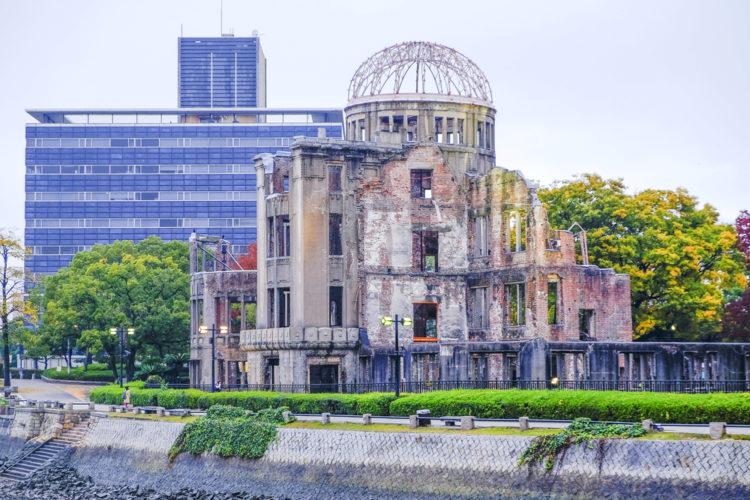 Достопримечательности Японии - Парк Мира в Хиросиме