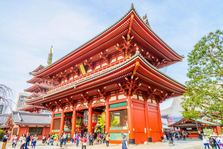 Достопримечательности Японии - Район Асакуса