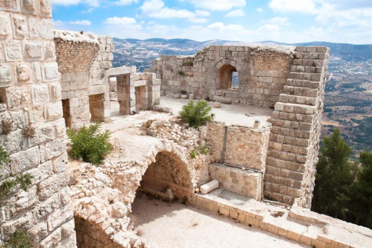 Достопримечательности Иордании - Аджлунский замок
