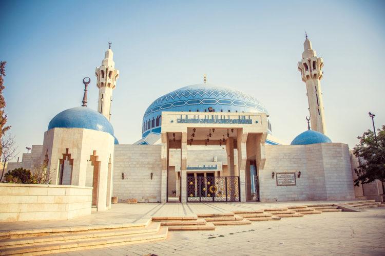 Достопримечательности Иордании - Мечеть короля Абдаллы I