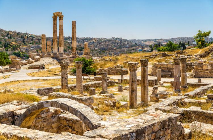 Достопримечательности Иордана - Цитадель Аммана