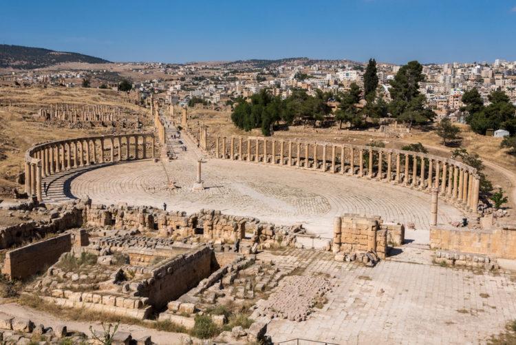 Достопримечательности Иордана - Древний город Джераш