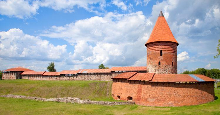 Достопримечательности Литвы - Каунасский замок