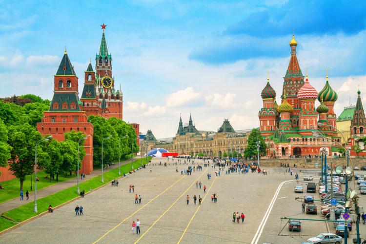 Достопримечательности России - Красная площадь