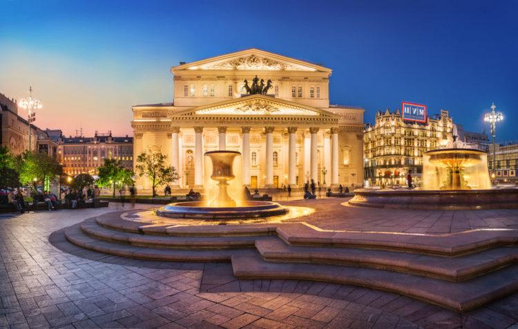 Достопримечательности России - Большой театр