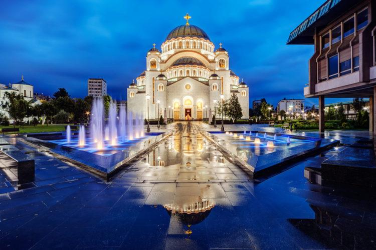Достопримечательности Сербии - Храм Святого Саввы