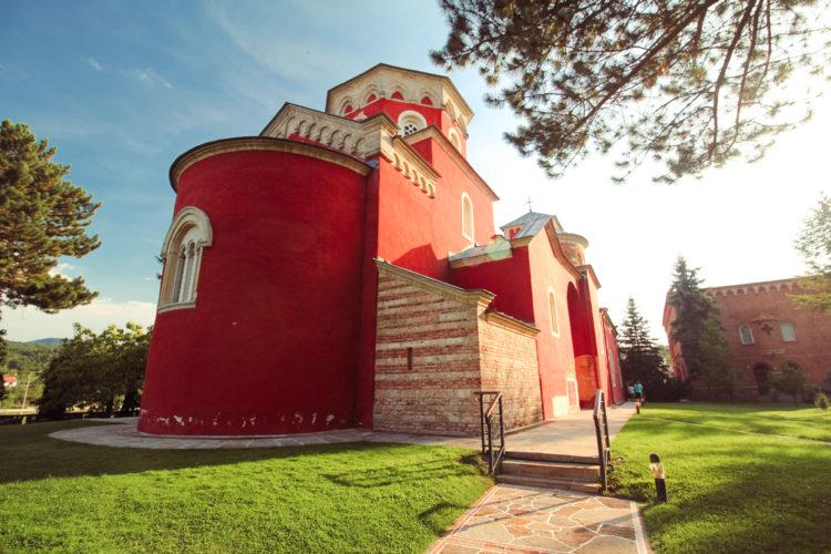 Достопримечательности Сербии - Монастырь Зика