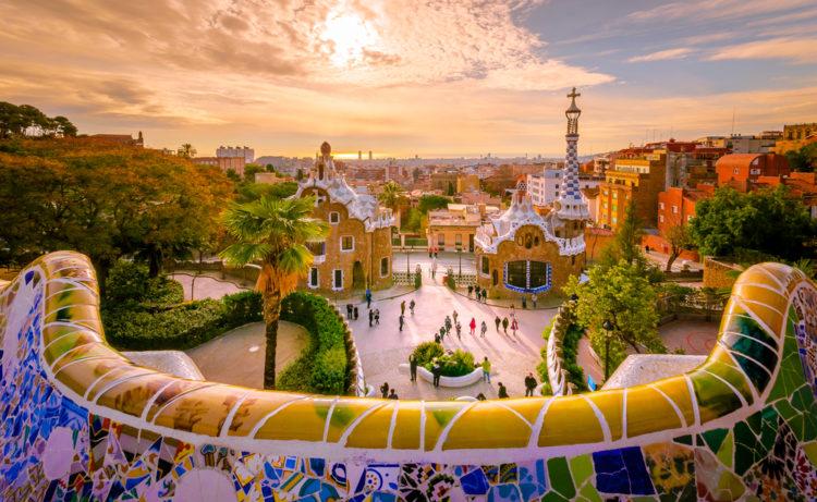 Достопримечательности Испании - Парк Гуэль