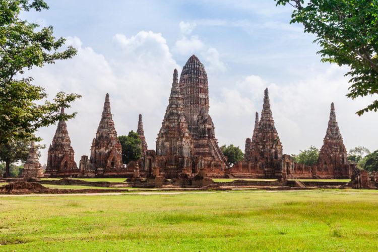 Достопримечательности Таиланда - Исторический город Аюттайя