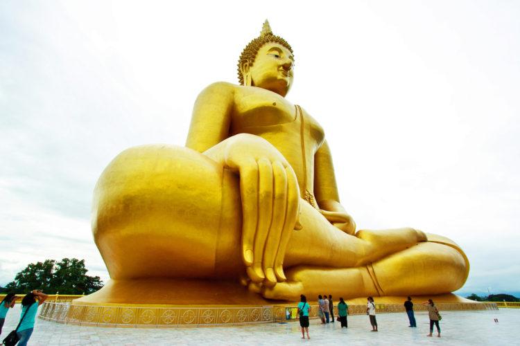 Достопримечательности Таиланда - Большой Будда