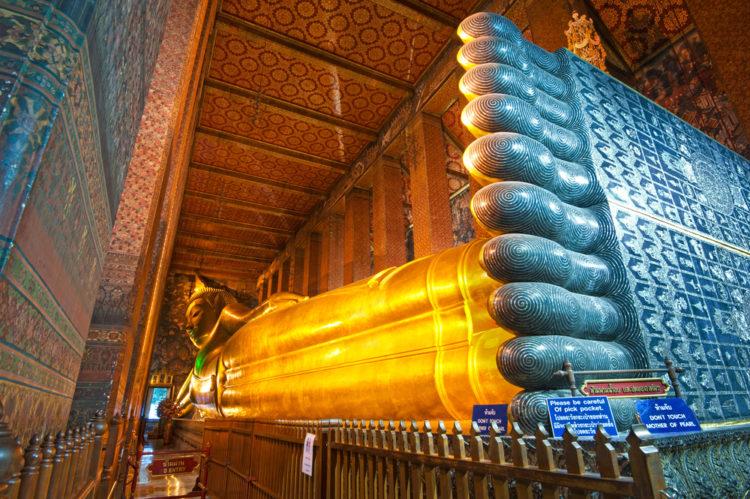 Достопримечательности Таиланда - Храм лежащего Будды в Бангкоке