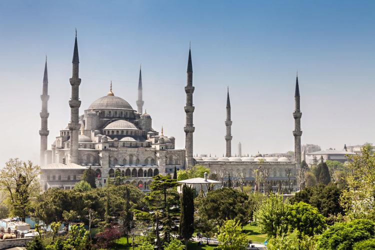 Достипримечательности Турции - Голубая мечеть
