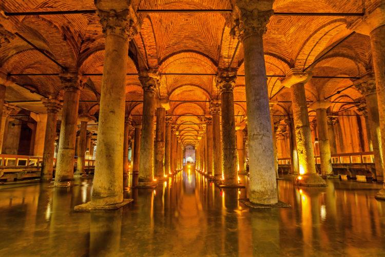 Достопримечательности Турции - Цистерна Базилика