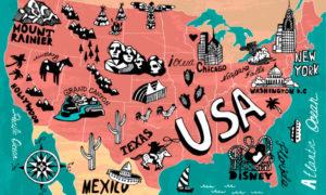 Достопримечательности США: Топ-35 лучших мест (МНОГО ФОТО)