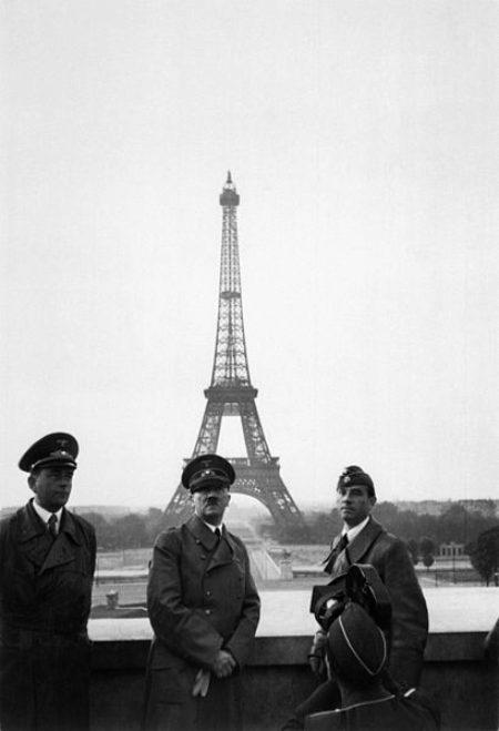 Эйфелева башня и Гитлер