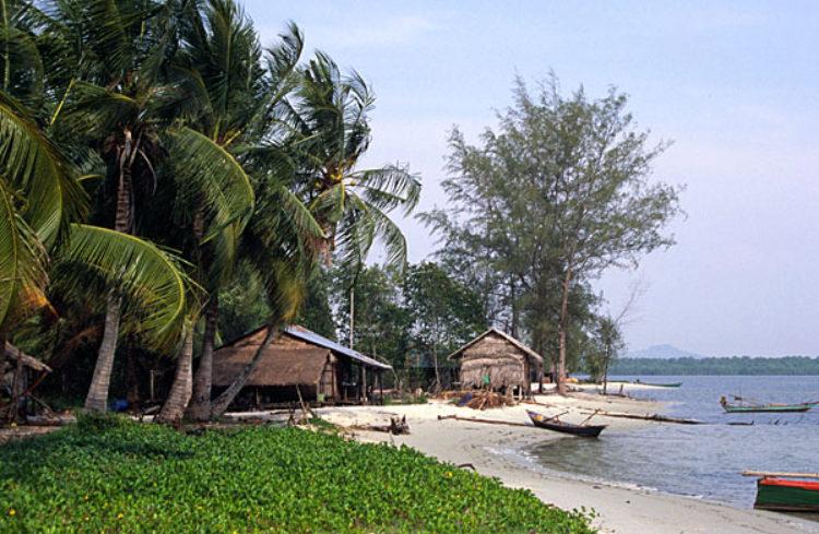 Что посмотреть в Камбодже - Национальный парк Реам