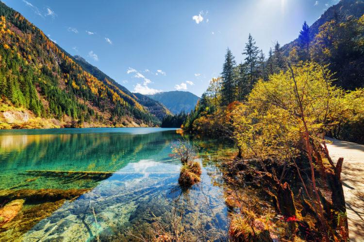 Что посмотреть в Китае - Долина Цзючжайгоу