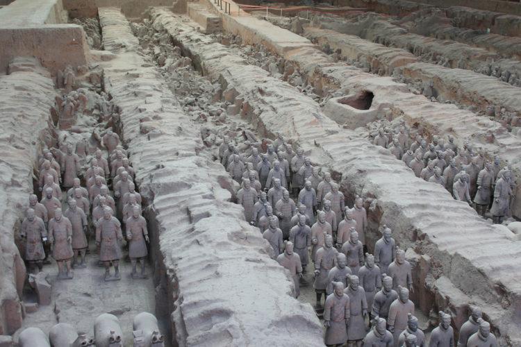 Терракотовая Армия - достопримечательности Китая