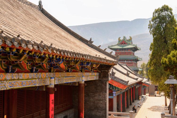 Шаолинь - достопримечательности Китая