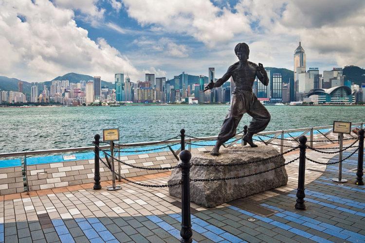 Аллея Звёзд в Гонконге - достопримечательности Гонконга