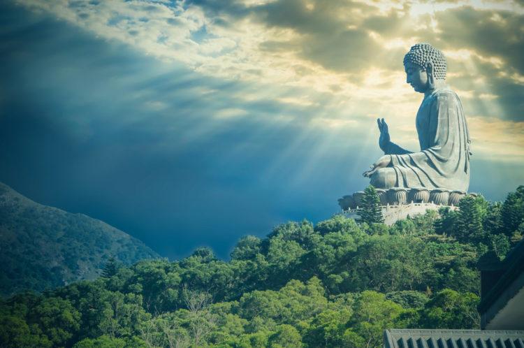 Большой Будда - достопримечательности Гонконга