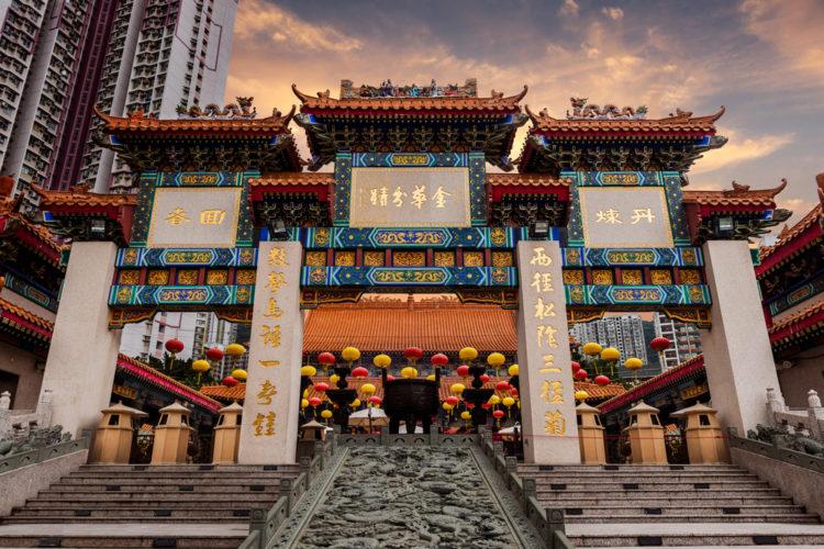 Что посмотреть в Гонконге - Храм Вонг Тай Син