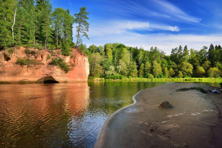 Гауйский национальный парк - достопримечательности Латвии