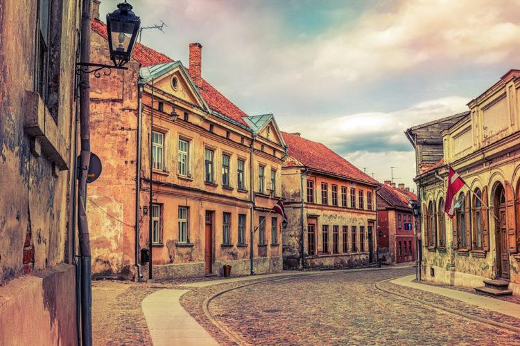 Город Кулдига - достопримечательности Латвии