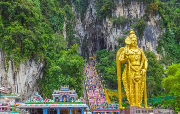 Пещеры Бату - достопримечательности Малайзии