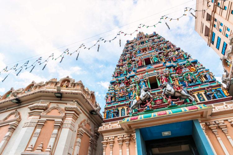 Храм Шри Махамариамман - достопримечательности Малайзии