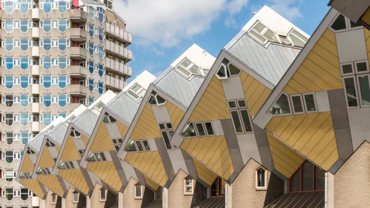 Кубические дома - достопримечательности Нидерландов