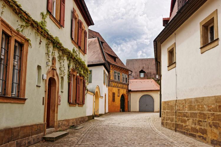 Старая часть города Бамберга