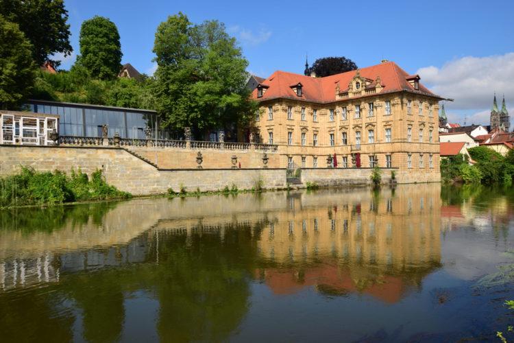 Достопримечательности Бамберга - Здание музея Виллы Конкордия
