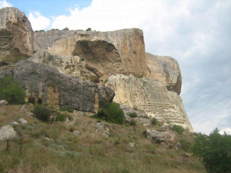 Пещерный монастырь Качи-Кальон в Бахчисарае