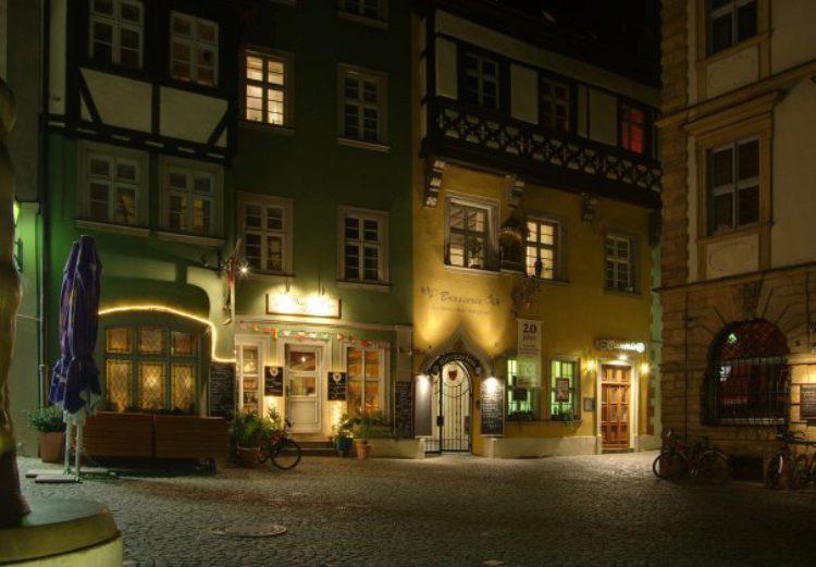 Ночной Бамберг