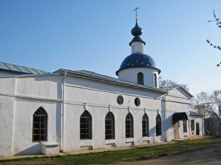 Церковь Боголюбской Иконы Божьей Матери в Александрове, Владимирской области в России
