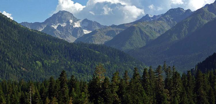 Что посмотреть в Архызе - Гора София (3637 м) - красивейшая гора в окрестностях Архыза
