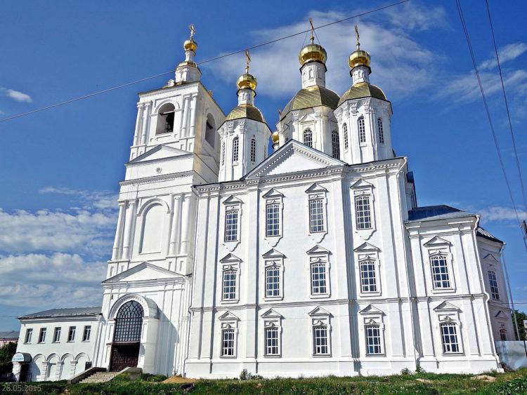 Церковь Благовещения Пресвятой Богородицы в Арзамасе, Нижегородская область, Россия