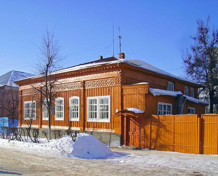 Дом-музей писателя Максима Горького. Арзамас, Нижегородская область