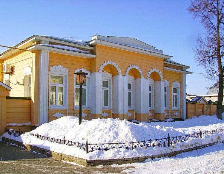 Дом Бессонова. В этом доме бывал А.С.Пушкин. Арзамас, Нижегородская область, Россия