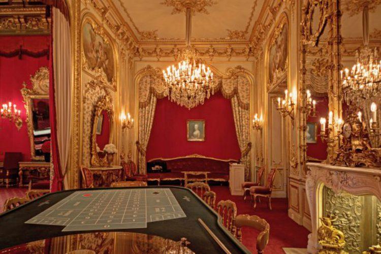 Зал казино в Баден-Бадене, Германия