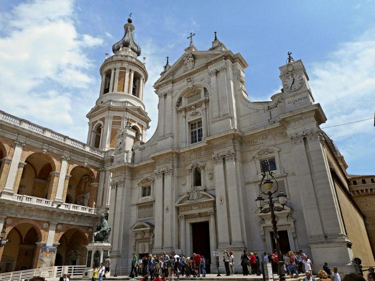 Базилика делла Санта-Каса в Анконе в Италии