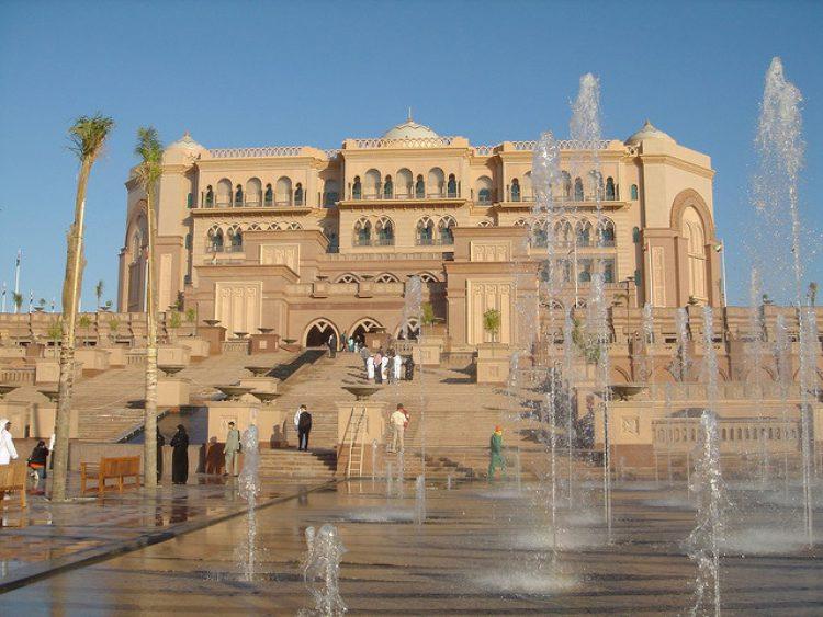 Дворец-отель в Абу-Даби в ОАЭ