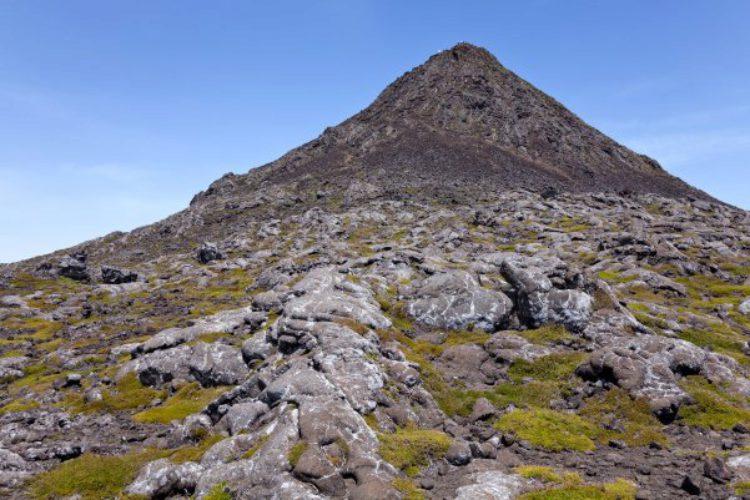 Гора Пико на острове Пико на Азорских островах