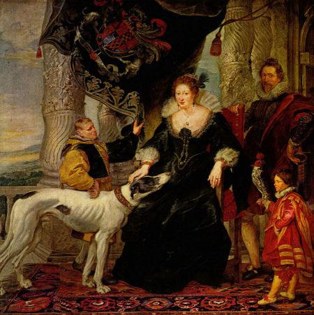 """Картина художника Педро Пабло Рубенса """"Томас Говард, граф Арундел, со своей женой, Алетей Тальбот, графиня Арундел"""""""