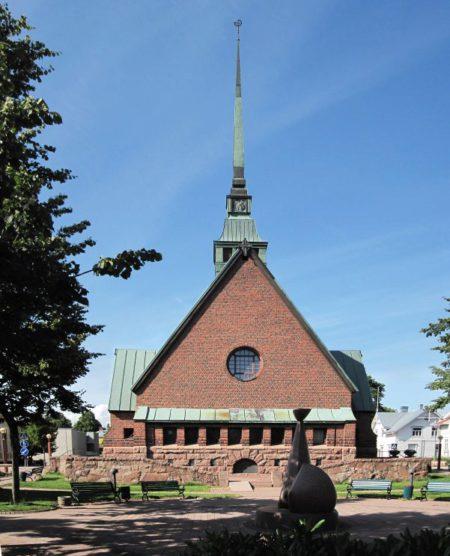Достопримечательности Аландских островов- Церковь Святого Георгия в Мариехамне