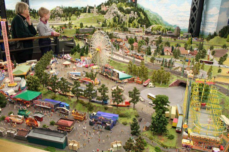 Что посмотреть в Алуште - парк миниатюр в Алуште, Россия