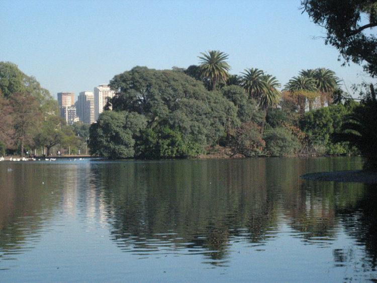 """Парк """"Tres de Febrero"""" в Буэнос-Айресе в Аргентине в Южной Америке"""