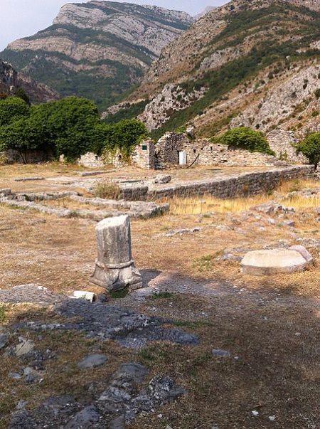 Место Св. Георгия в Старом Баре, Черногория